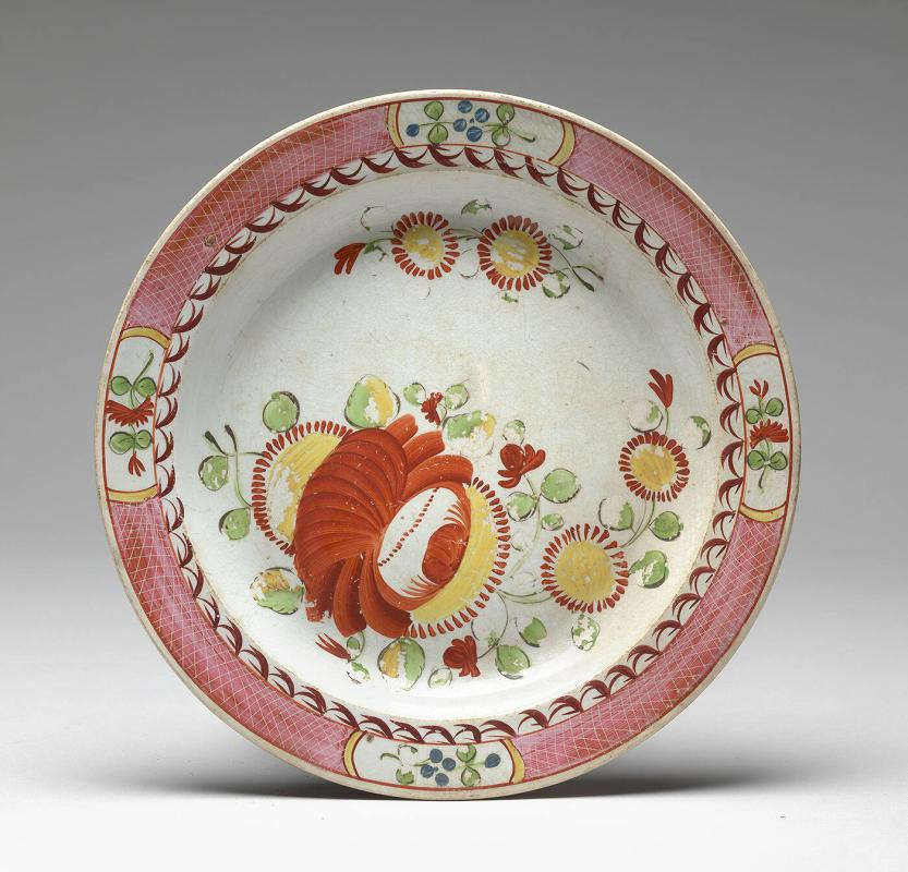 King's Rose China Plate