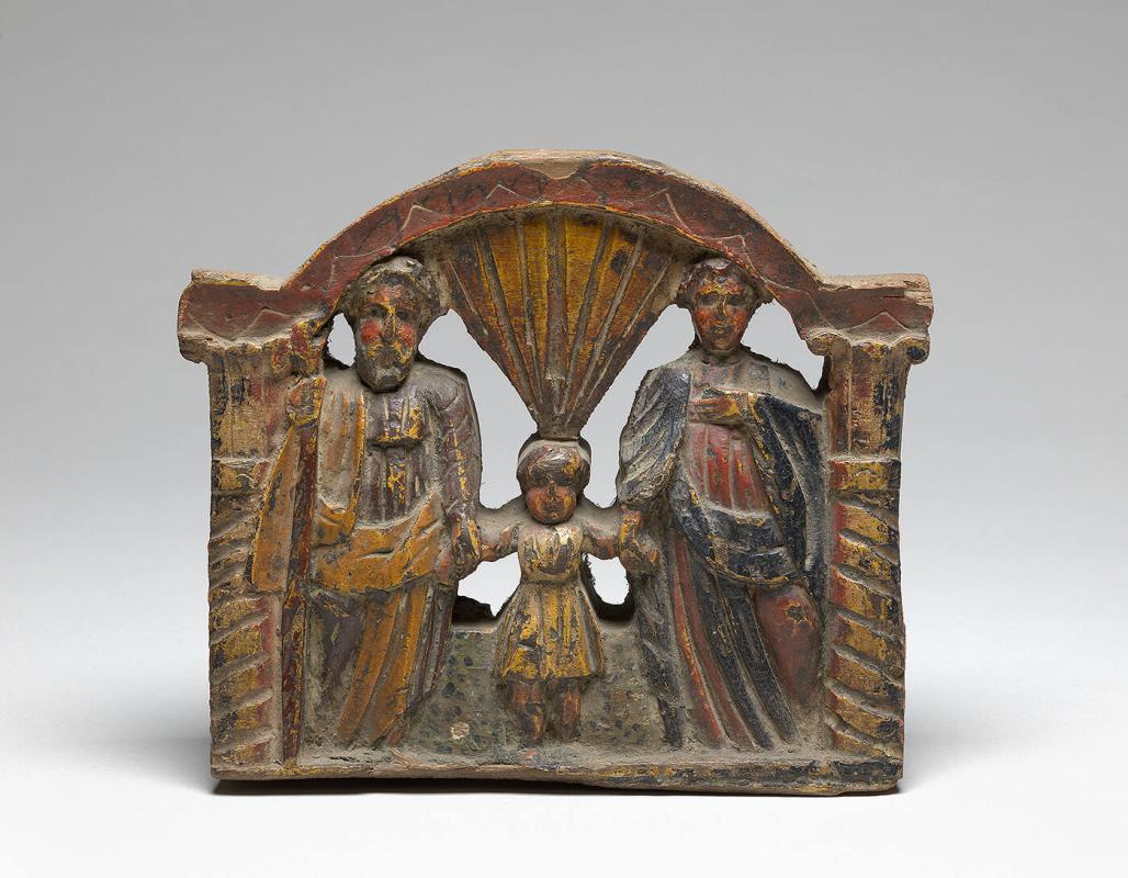 "Cart decoration, ""Holy Family"""