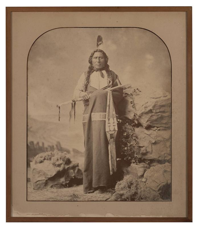 White Thunder, of the Lower Brulé Lakota Delegation