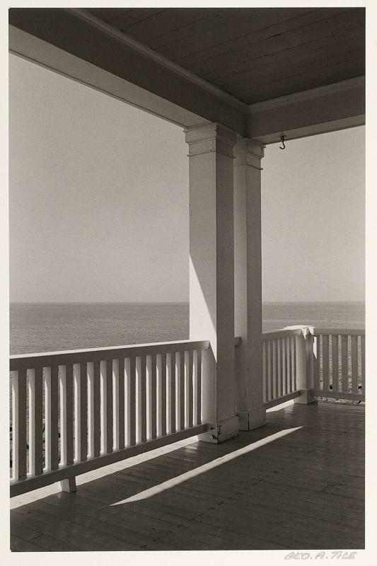 Porch, Monhegan Island, Maine