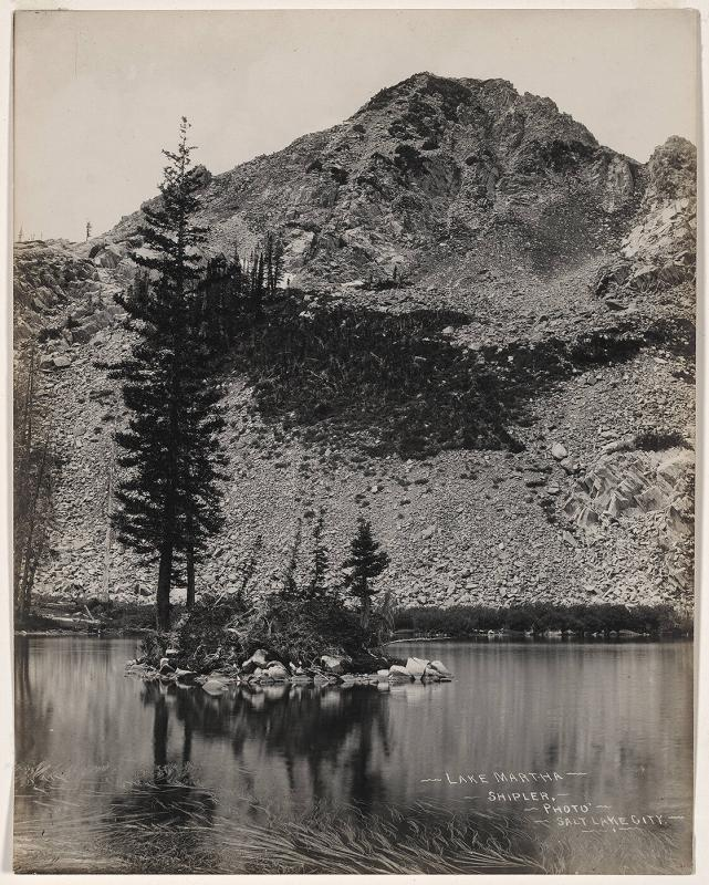 Lake Martha, Big Cottonwood Canyon, Utah