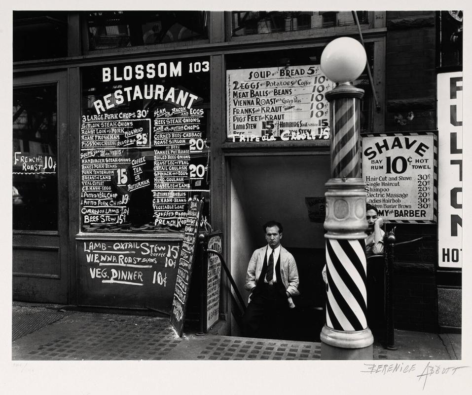 Blossom Restaurant, 103 Bowery, Manhattan, October 24, 1935