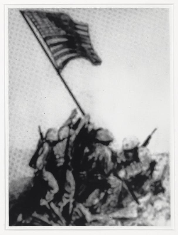 "Memory Rendering of Iwo Jima (from ""The Best of Life"")"