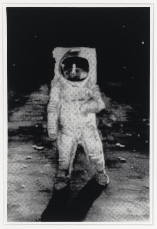 "Memory Rendering of the Man on the Moon (from ""The Best of Life"")"