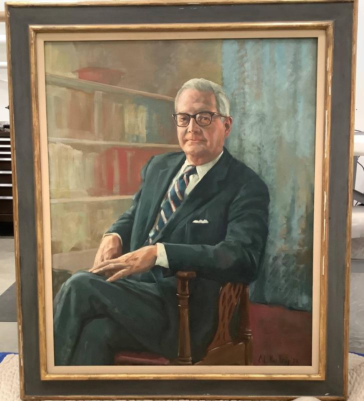 Portrait of Charles Allen Foehl, Jr. (1909-1989), Class of 1932, Treasurer 1950-1973, Secretary to the Corporation 1950, Vice President for Administration 1966-1973