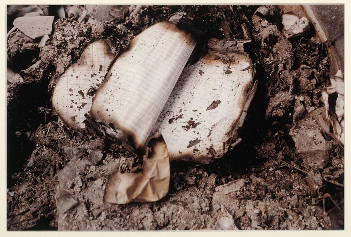 9/11 Burned Book
