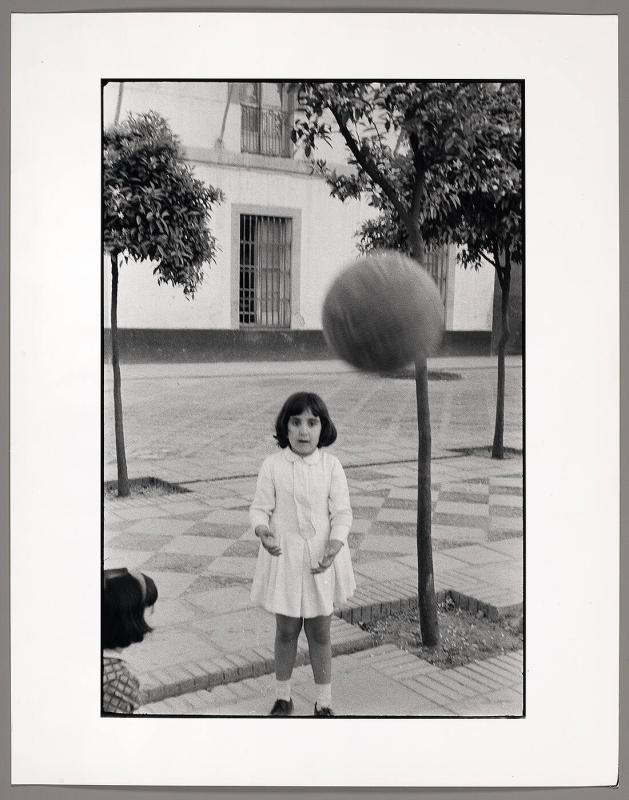 Girl Playing Ball, Seville, Spain
