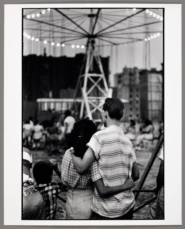 New York (Coney Island, Back of Couple)