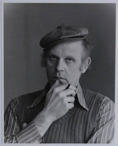 Portrait of Claes Oldenburg
