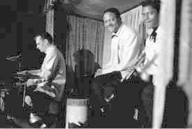 Claus Olgerman, Clark Terry, and Willie Cook, performance, N.Y.C.