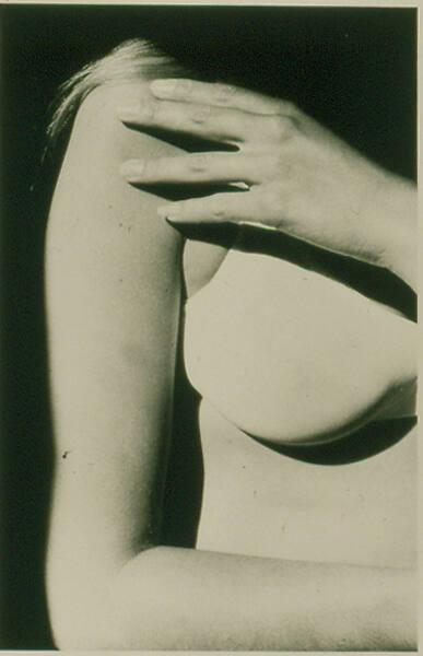 "Untitled: arm, breast and hand (from ""If and Silk"")"