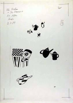 12 Xerox Studies for Dishware