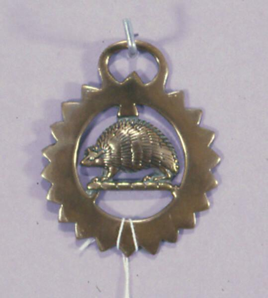 Horse brass, Sporting and Agricultural Types (hedgehog)