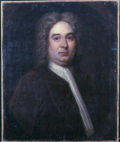 Portrait of a Man in a Brown Frock