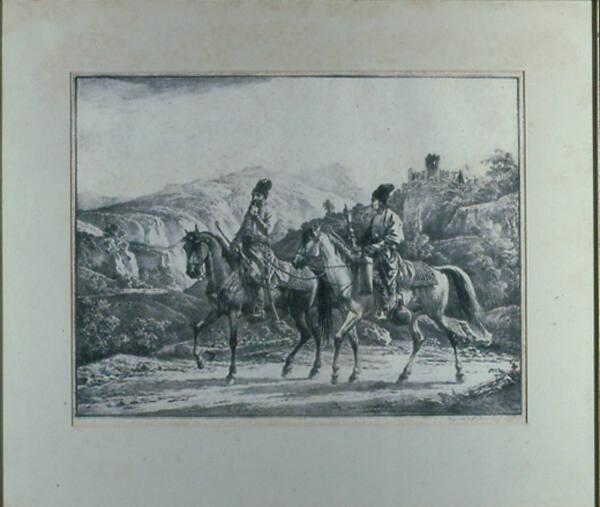 From the Caucasus, Two Travellers, A Nobleman and His Servant