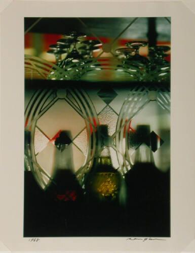 Untitled: Bottles, glasses, Paris (from Theorem)