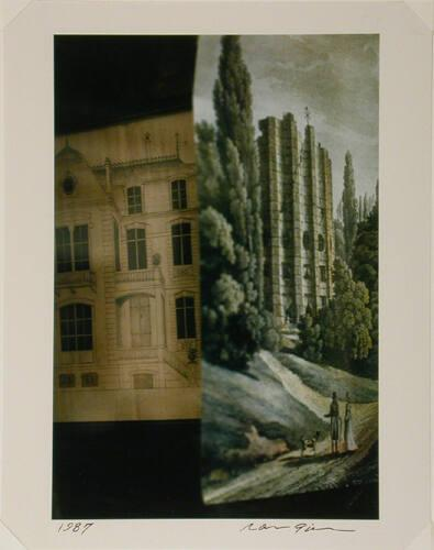 Untitled: Tapestry and building, Paris (from Theorem)
