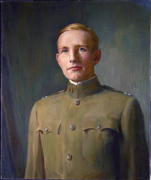 Portrait of Belvidere Brooks (1888-1918), Class of 1910