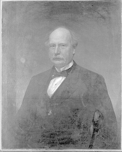 Portrait of David Dudley Field(?) (1805-1894), Class of 1825, Benefactor