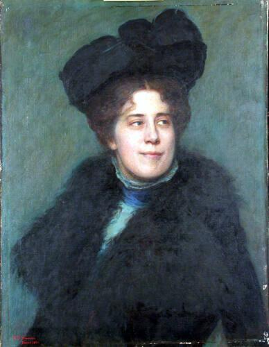 Portrait of Mrs. Perry (?)