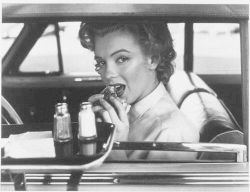 "Marilyn at the Drive-In, 1952 (from ""Halsman/Marilyn"")"