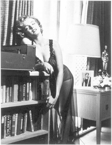 "Marilyn Listening to Music, 1952 (from ""Halsman/Marilyn"")"