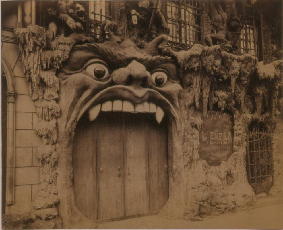 Cabaret de L'Enfer [et du ciel], Boulevard de Clichy 53 from Picturesque Paris, Part II