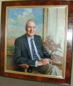Carl W. Vogt, Class of 1958, Fifteenth President of Williams College, 1999-2000