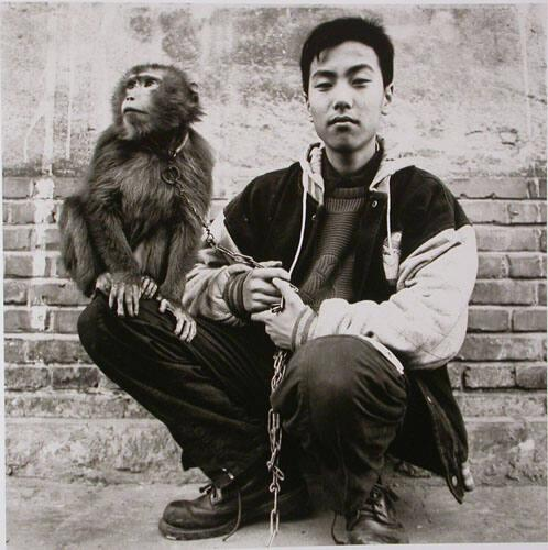 "A Boy and His Monkey (from ""The Chinese"")"