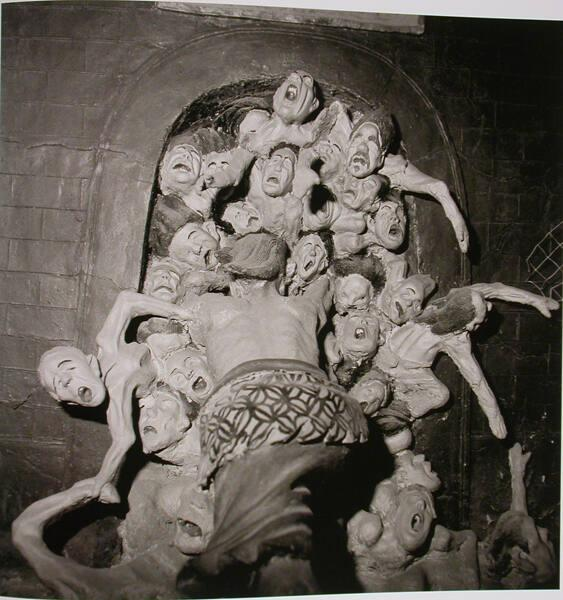 "Clay Sculpture: Gate of Hell, Fengdu, Sichuan Province, (from ""The Chinese"")"