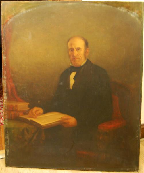 Portrait of Mark Hopkins (1802-1887), Class of 1824, Fourth President of Williams College 1836-1872, College Trustee 1872-1887