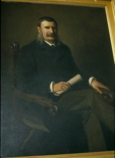 Portrait of Franklin Carter (1837-1919), Class of 1862, Sixth President of Williams College 1881-1901