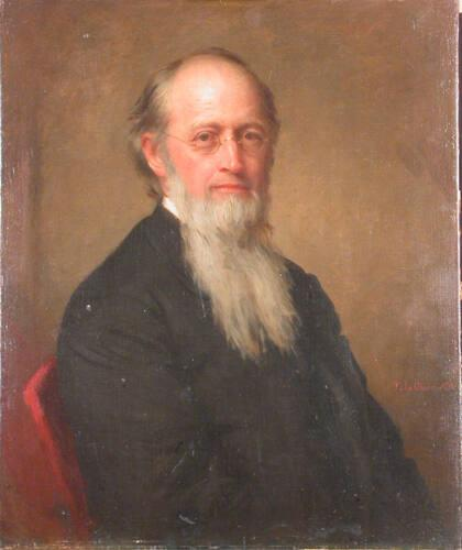 Portrait of Paul Ansel Chadbourne (1823-1883), Class of 1848, Fifth President of Williams College 1872-1881