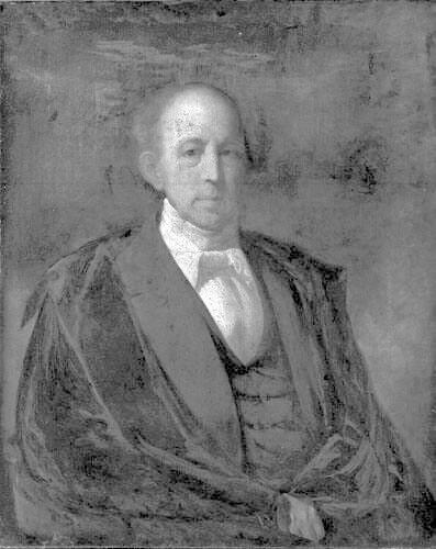 Portrait of Chester Dewey (1784-1867), Class of 1806, Williams College Tutor 1808-10 and Professor of Math & Natural Philosophy 1810-27
