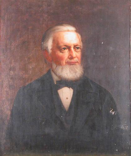 Portrait of Francis Henshaw Dewey (1821-1887), Class of 1840, Williams College Trustee 1869-1887