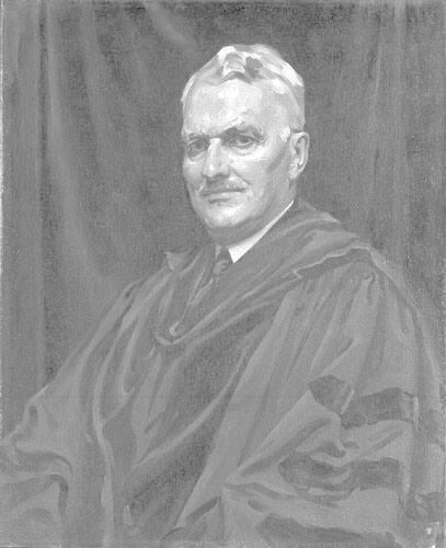 Portrait of Frederick Carlos Ferry, Class of 1891, Williams College Instructor 1891-94, Professor 1899-1917, and Dean 1902-1917