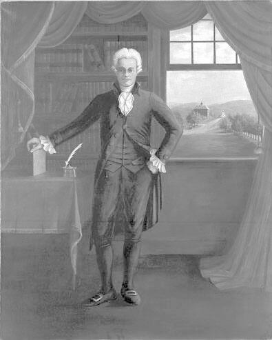 Portrait of Ebenezer Fitch (1756-1833), First President of Williams College 1793-1815