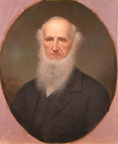 Portrait of Albert Hopkins (1807-1872), Class of 1826, Williams College Tutor 1827-29 and Professor 1829-72