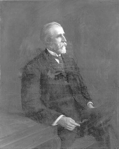 Portrait of Albert Charles Houghton (1844-1914), Williams College Trustee 1891-1910