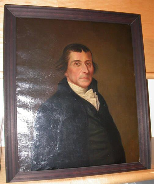 Portrait of Israel Jones (d.1828), Williams College Trustee 1793-1822