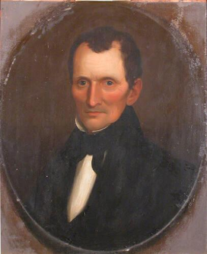 Portrait of Ebenezer Kellogg (1789-1846), Williams College Professor 1815-1844 and Librarian 1815-1845