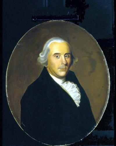 Portrait of David Noble (1744-1803), Trustee 1793-1803