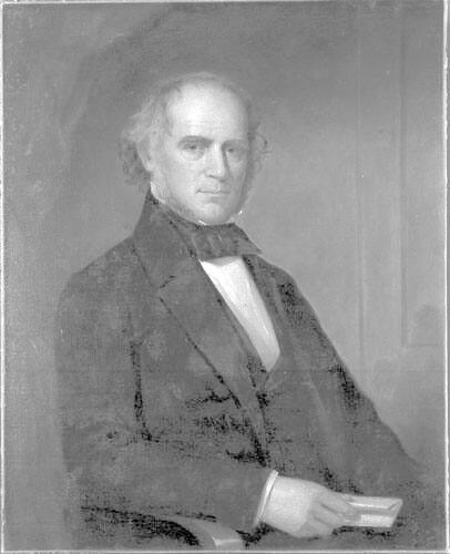Portrait of Emory Washburn (1800-1877), Class of 1817, Williams College Trustee 1845-48