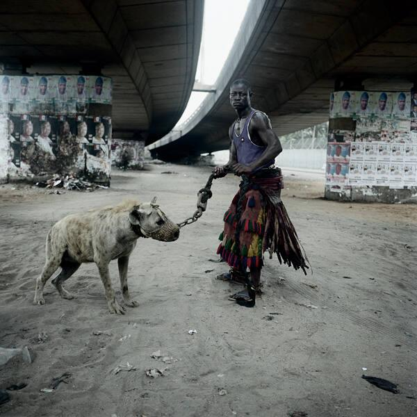 "Abdullahi Mohammed with Mainasara, Lagos, Nigeria (from the series ""The Hyena and Other Men"")"
