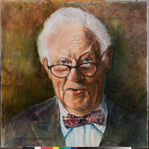 Portrait of S. Lane Faison, Jr. (around the age of 85)