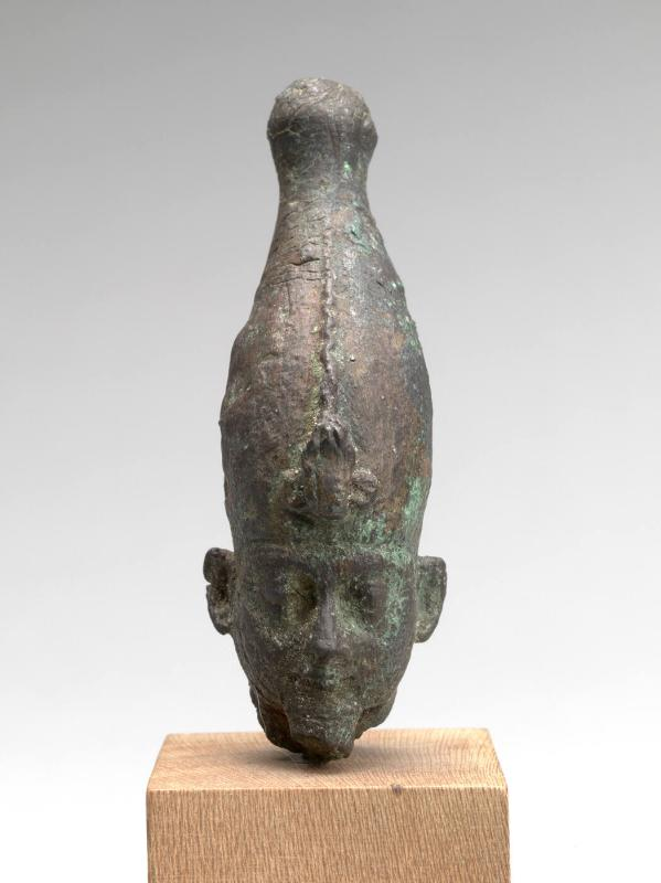 Head from a Statuette of Osiris