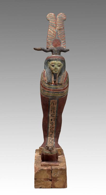 Ptah-Sokar with bird
